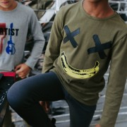 18063-T-SHIRT happy banana khaki-002