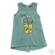 Hollekebolleke_online_webshop_kinderkleding_Ettel_Bettel_LEMONADE Tank Dress jade green