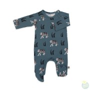 JUMPSUIT OTTO WITH FEET SNOWTIGER