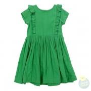 JacquelineDress-grassgreen_Lily_Balou_Hollekebolleke_kinderkleding_SS19_webshop_online