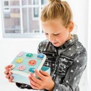 petit_monkey_bamboo_lunchbox_donuts_blue_blb15d
